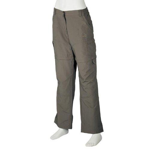McKINLEY Shirel KG - Pantalones Plegables de Mujer - Verde oscuro, 44