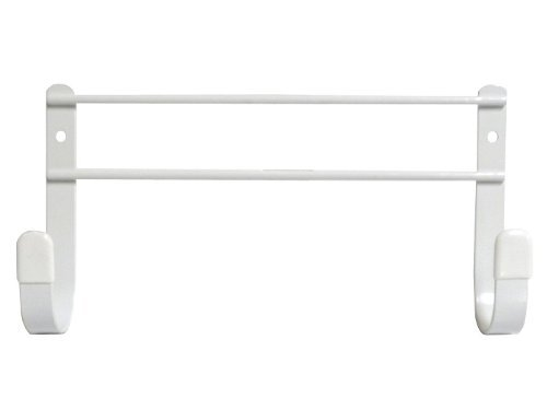 Spectrum Diversified Wall Mount Ironing Board Holder, White (Ironing Board Closet)
