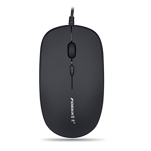 OVERMAL  FORKA K9 4 Button1600 DPI USB Wired Silent Optical Gaming Mice Mouses For PC Laptop