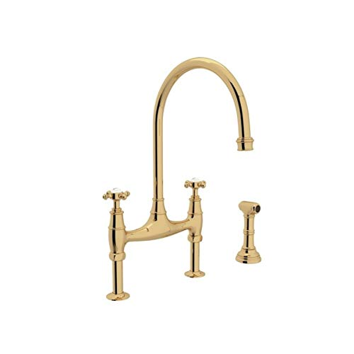 ROHL U.4718X-ULB-2 KITCHEN FAUCETS Unlacquered Brass