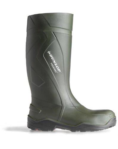 Dunlop - Calzado de protección para hombre Verde verde kClX5ZM