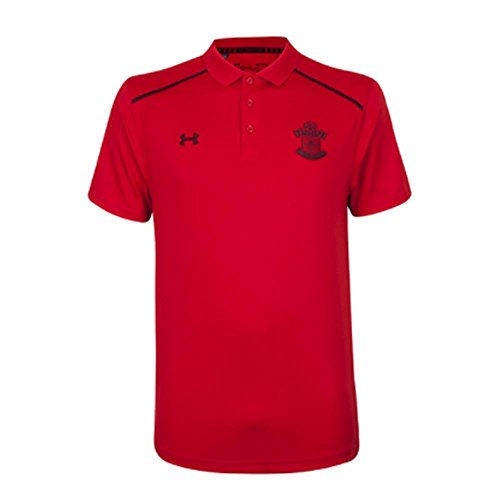 Under Armour 2017-2018 Southampton Team Polo Football Soccer T-Shirt Jersey (Red)