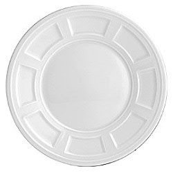 Bernardaud Fine China Plates (Bernardaud Naxos Service Plate, 12