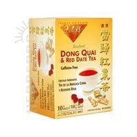 Prince of Peace Dong Quai & Red Date Instant Tea 10 tea bags (Pack of 4)