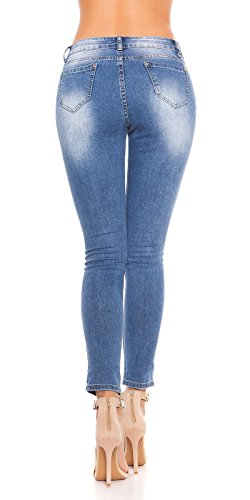 Jeans bleu Femme Play clair New 4qpAwn
