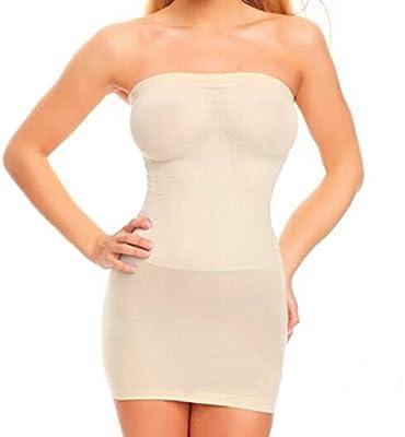 Body Shape - Vestido de mujer ultrafino con cintura alta, ajustado ...