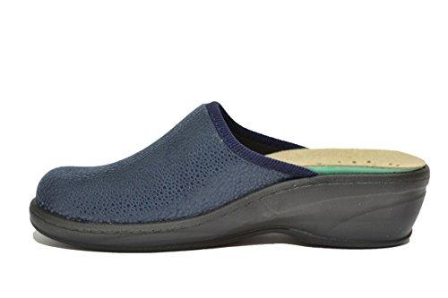 Fly Flot Ciabatte scarpe donna blu plantare estraibile 359593Y