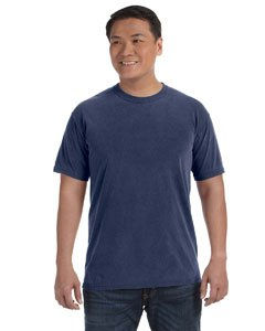 (Comfort Colors 1717 Pigment-Dyed Short Sleeve Shirt (Midnight, XX-Large))