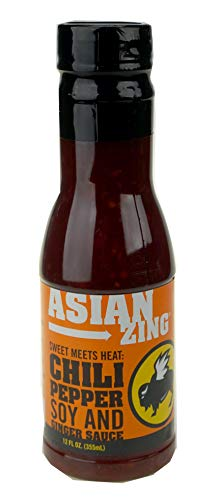 Buffalo Wild Wings Asian Zing: Chili Pepper, Soy, and Ginger Sauce; 12 fl oz. (355 mL)