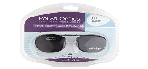 (Polar Optics 48 Rec 3 Fits Full Frame Gray Lenses with Hard Case)
