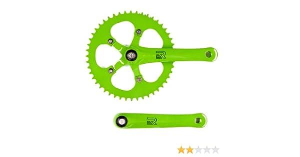 Retrospec Bicicletas de piñón Fijo de manivela Velocidad Bicicleta ...