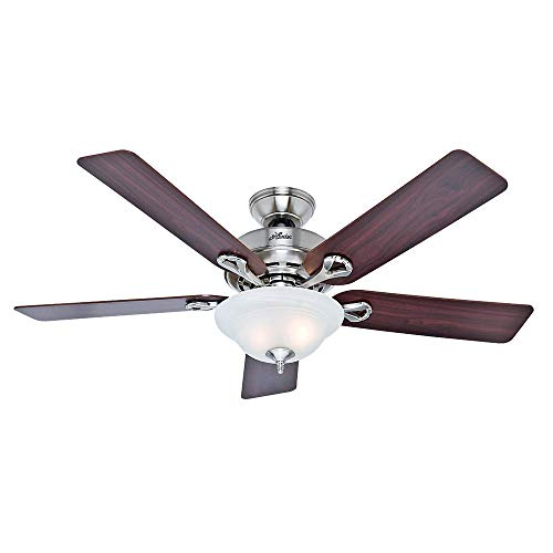 52 Kensington Ceiling Fan with Freebies Brushed Nickel
