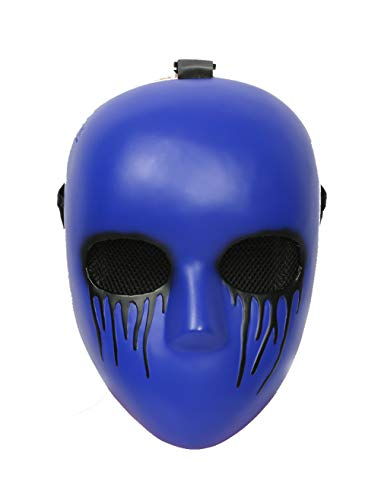 Xcoser Eyeless Jack Mask Costume Props for Halloween Coslay Resin
