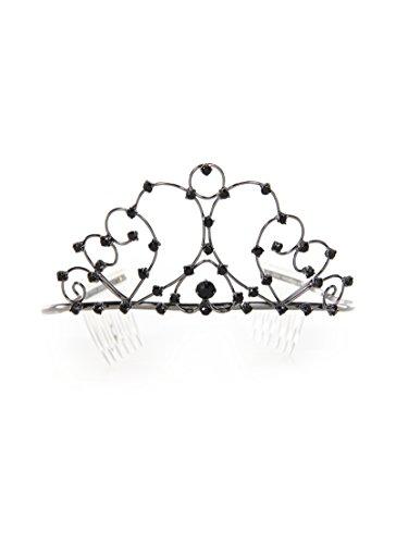 Black Swan Tiara (Elope Gothic Tiara Costume, Black)