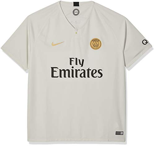 4b341941703b NIKE 2018-2019 Paris Saint-Germain (PSG) Away Stadium Jersey (Light Bone)  (L)