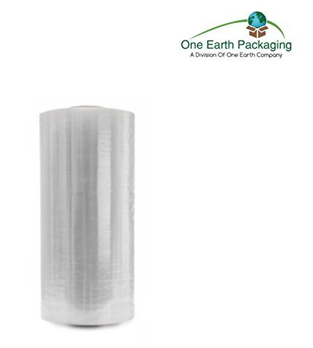 One Earth 15 Inches x 1500 Ft. Clear Stretch Film: 1 Roll- 51 Gauge (13 Micron) Stretch Wrap by One Earth Company