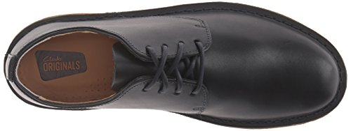 Clarks Mens Desert London Oxford, Dark Navy, 10.5 M US