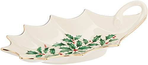 Lenox Holiday Leaf Dish