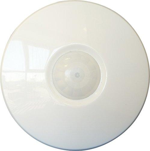 Ematic PMSCS 4M Radius, Flush Ceiling Mount Occupancy Sensor - White