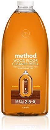 Method Squirt + Mop Hardwood Floor Cleaner Refill, Almond, 68 Ounce