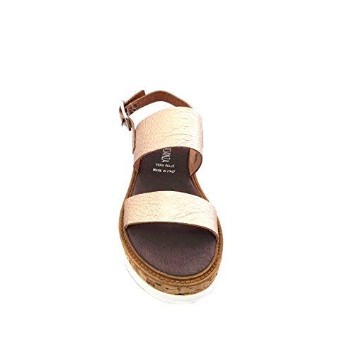 ANNA FIDANZA Ib00050d - Sandalias de vestir de Piel para mujer dorado Rame