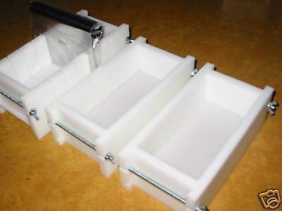 1-2 Lb Soap Molds & BAR Slicer SET