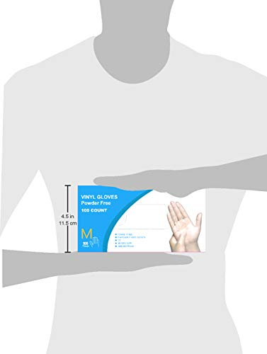 AMCO EXTRA STRONG Vinyl Gloves Case, Powder Free, Latex-Free, Food and Health, Wholesale Price, Best Quality (1000, Medium) by AMCO Direct (Image #2)