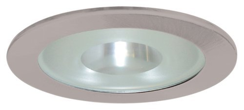 "Elco Lighting EL915N 4"" Shower Trim with Frosted Pinhole Glass - EL915"