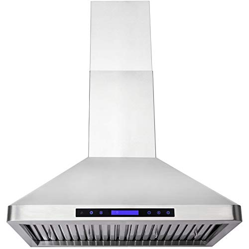 Dkb 36 Quot Inch Vent Hood Wall Mounted In Brushed Stainless