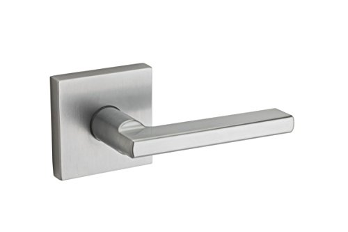 (Kwikset 154HFLSQT-26D Halifax Square Passage Door Locks Satin Chrome Finish)