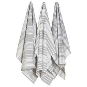 grey jumbo tea towels kitchen home. Black Bedroom Furniture Sets. Home Design Ideas