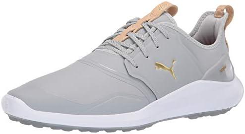 Puma Golf Men's Ignite Nxt Pro Golf Shoe high Rise Team Gold
