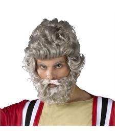Moses Wig And Beard Set (Moses Wig And Beard Adult Costumes Set)