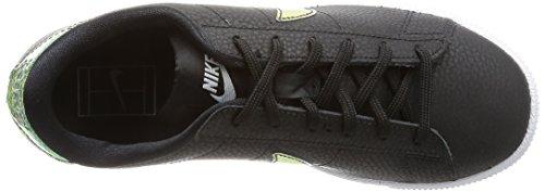 Nike Wmns Tennis Classic Prm, Zapatillas de Tenis para Mujer Negro (Negro (black/black-white))