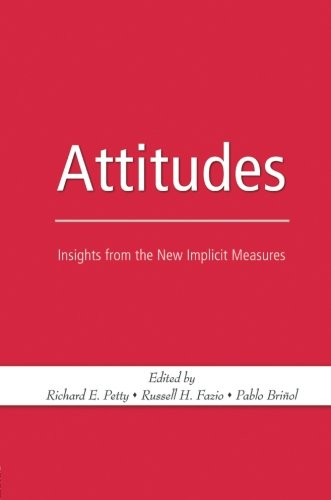 Attitudes: Insights from the New Implicit Measures