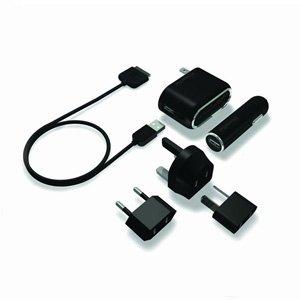 (NEW XtremeMac Global InCharge Travel Kit for iPod, iPad & iPhones (IPD-ICT-12))