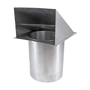 Metal Wall Vent Damper Only 6 Inch Dwva 6 Ducting