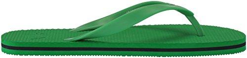 Armani Exchange Men's Solid Flip-Flop Fern Green fmUvhRb