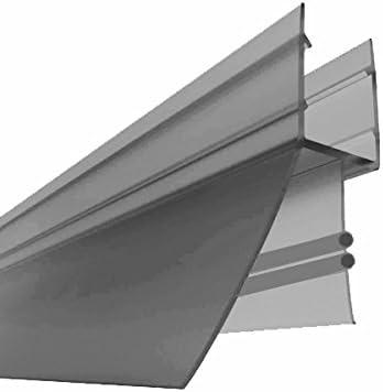 Para 6 – 8 mm Cristales/Junta para duchas de divisores y (nº 33, 100 cm)/Junta Junta para puertas. cabina de ducha Junta para mampara de ducha: Amazon.es: Bricolaje y herramientas