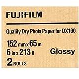 "Fujifilm DX100 Inkjet Paper Glossy - 6"" x"