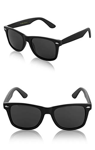 Retro Sunglasses 80s 80 60 60s Accessories Sport 2 Pack of Two Matte Matt Black ()