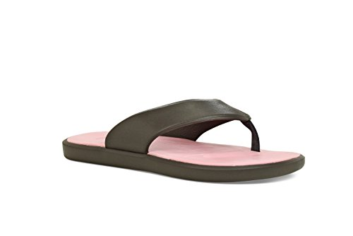 SoftScience The Skiff 2.0 Comfort Casual Unisex Shoes Charcoal/ Lt. Pink M3/W5 C1PXY