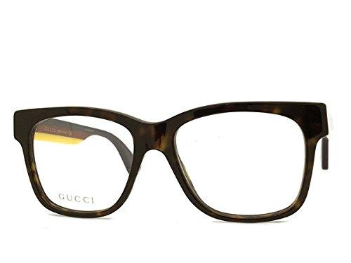 (グッチ) GUCCI グッチ ダークマーブルブラウン メガネフレーム 眼鏡 GUC-GG-0342O-006 B07CBCTTHL