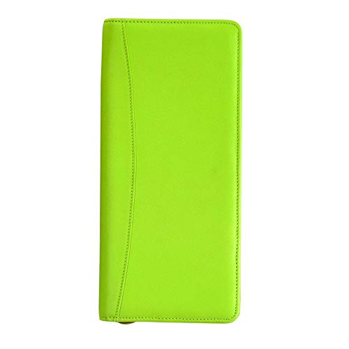 Royce Expanded All Nappa Cowhide Document Case - Leather - Key Lime Green - Key Lime Green
