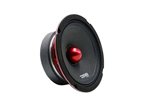 "DS18 PRO Series 6.5"" Mid-High Bullet Loudspeaker 500W Max - Set of 1-6.5"" (PRO-HB6EDGE)"