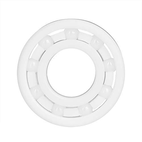High Speed Frictional Resistance 6900 Full Ceramic ZrO2 Ball Bearing 10 x 22 x 6mm,White