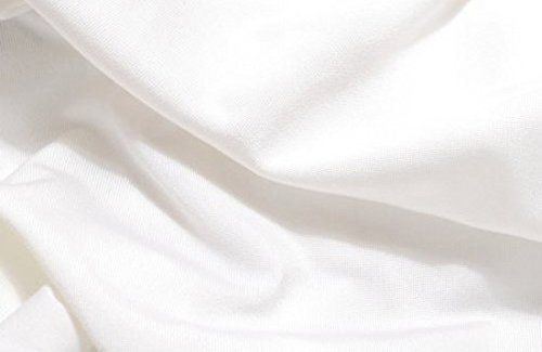 CowboyStudio Premium Mega Cloth White Backdrop 10 x 12 Feet, Wrinkles Free