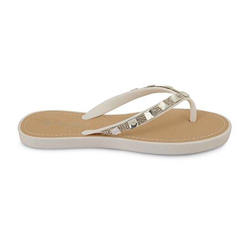 Footwear Sensation - Sandalias para mujer Blanco - blanco