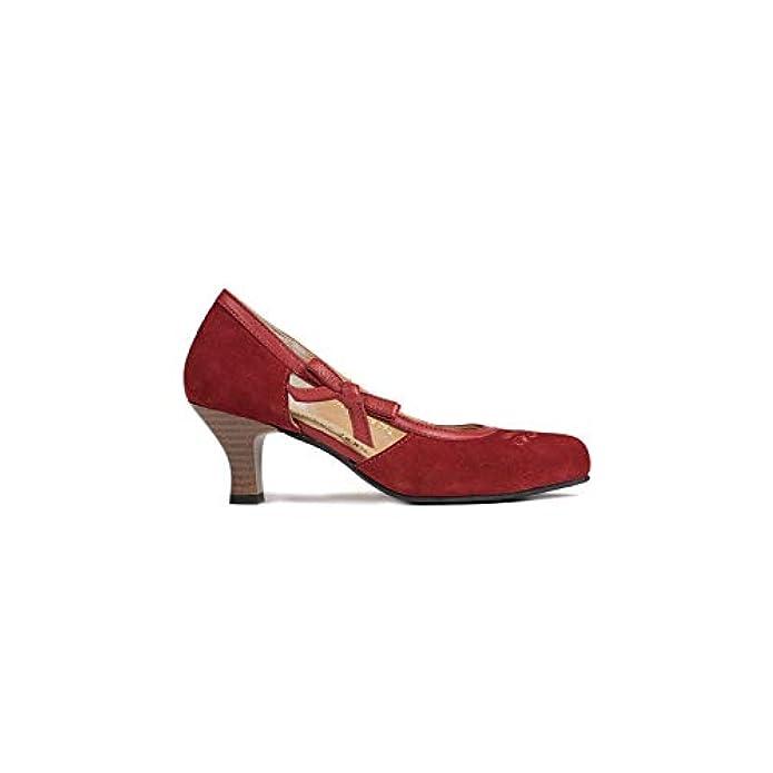 Spieth amp; Wensky Az d443valeskapumpsrot Scarpe Col Tacco Donna Rosso Rot One Size