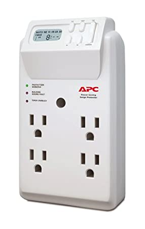 Review APC 4-Outlet Wall Surge